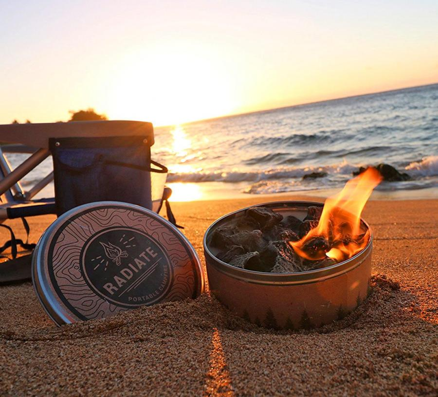 Radiate Portable and Reusable Campfire