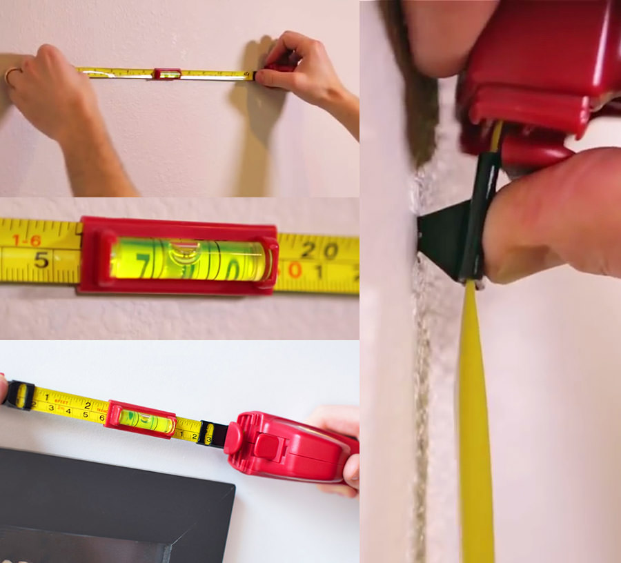Hang-o-matic: All-in-one Picture Hanging Tool
