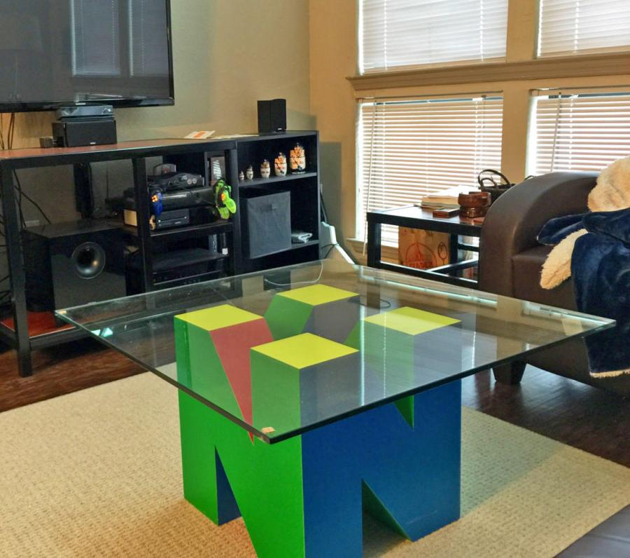 Giant N64 Logo Coffee Table
