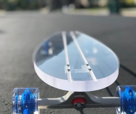 Ghost Clear Long Board