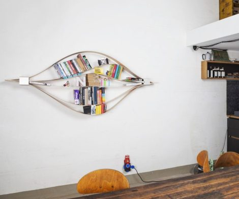 Chuck Flexible Wall Shelf