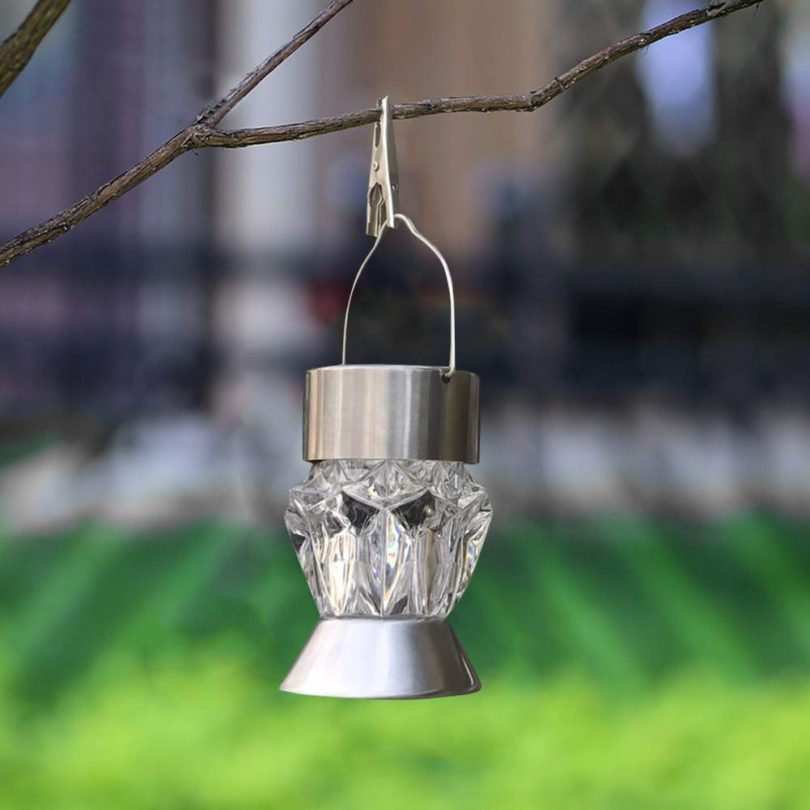 7 Colors Outdoor LED Solar Powered Light