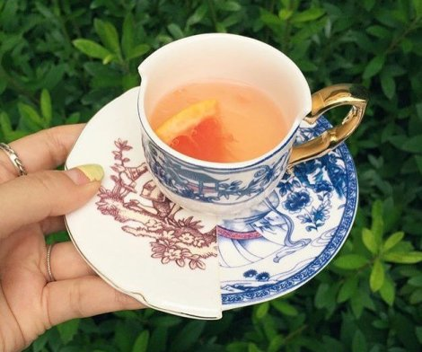 Hybrid Eufemia Porcelain Cup & Saucer by Seletti