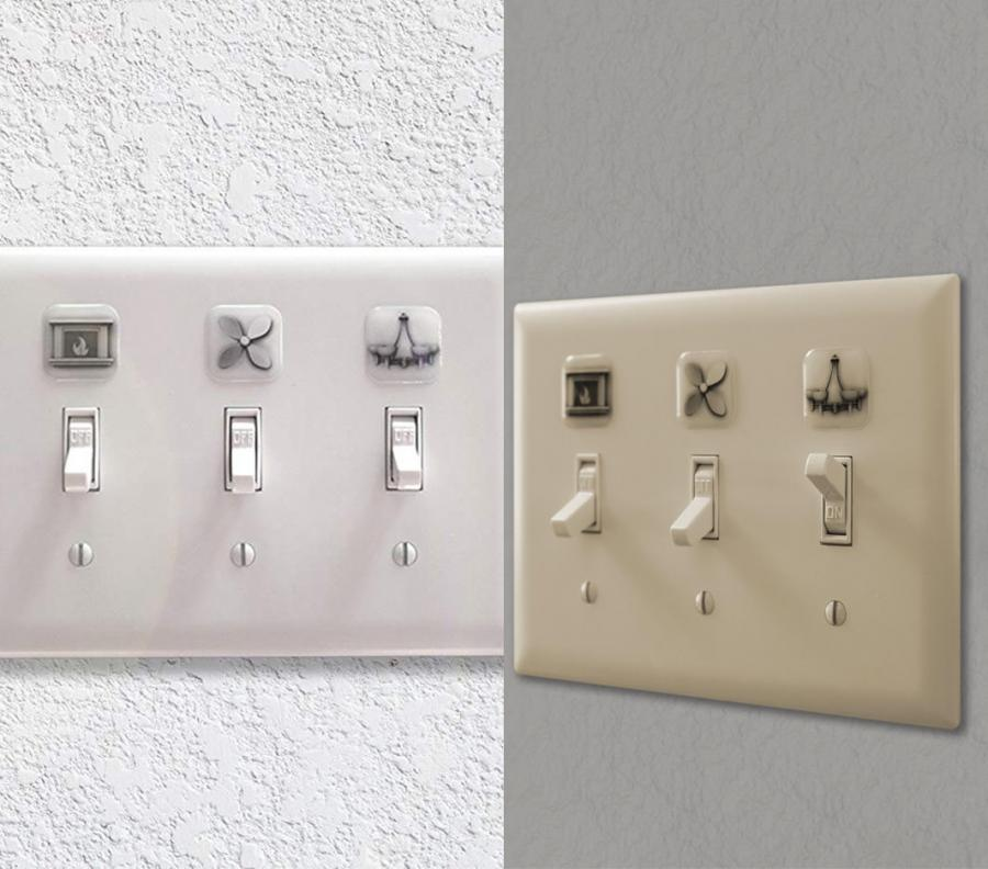 These Light Switch Labels Help Identify What Switch Is For What