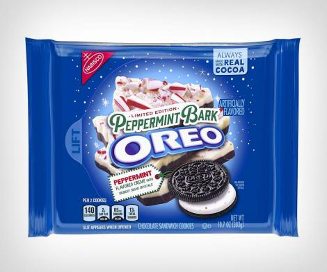 Peppermint Bark Oreos