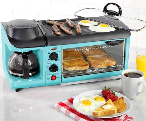 Nostalgia 3-in-1 Breakfast Station Makes Your Entire Breakfast