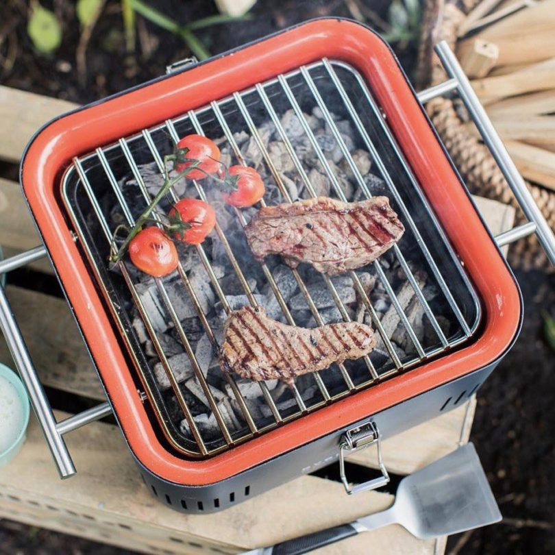 Cube Portable Charcoal Grill by Everdure