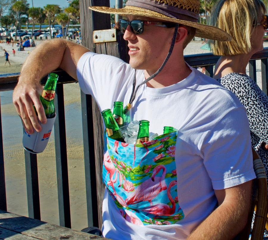 BucketTee: A T-Shirt With a Giant Front Pocket