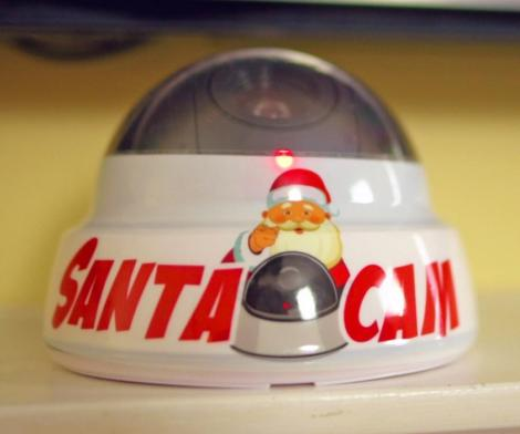 Santa Cam Fake Camera Prop