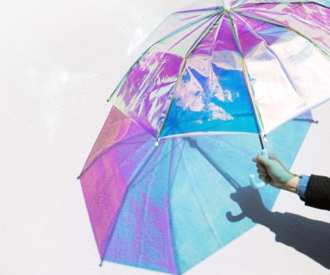 Personalized Holo Umbrella