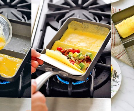 Rolled Omelette Pan