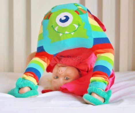 Rainbow Monster Legging