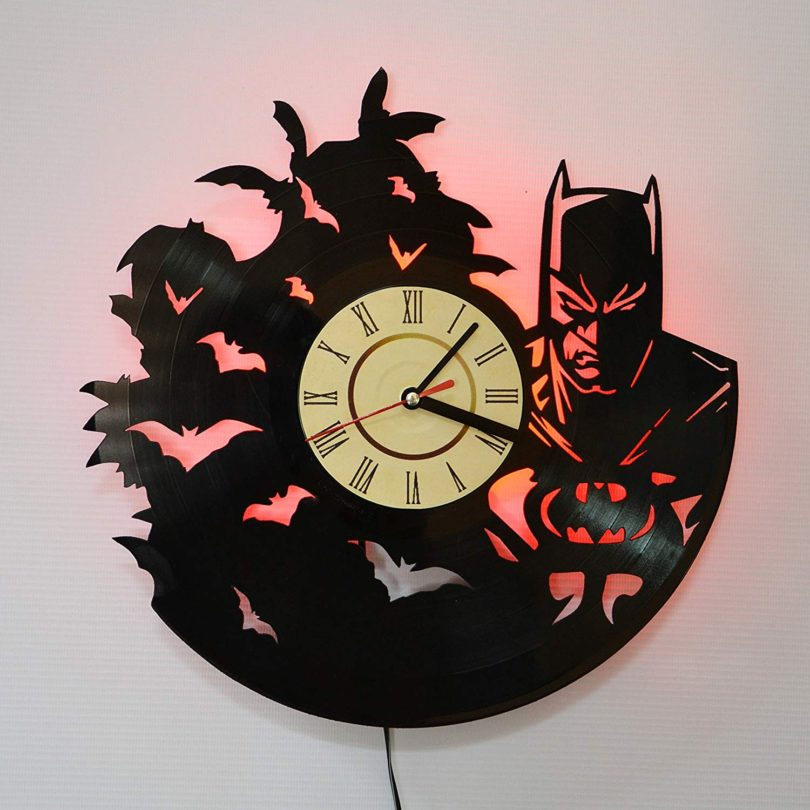 Batman MOVIE Red LED Wall Lights