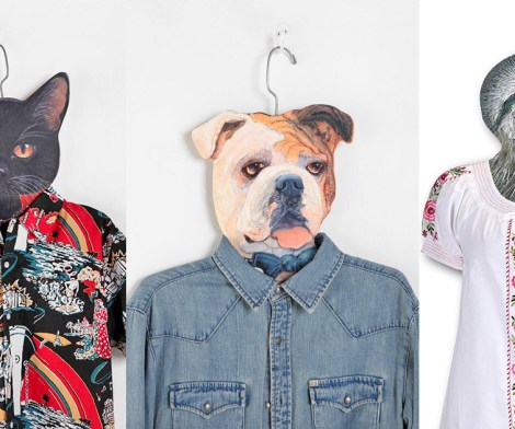 Animal Head Clothes Hangers
