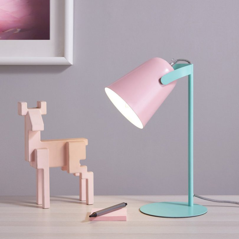 Bot Desk Lamp for Reading and Bedroom Lighting