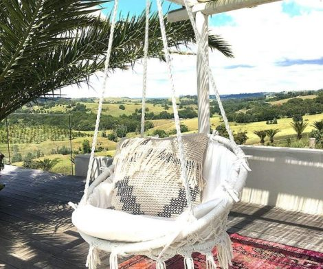 Hammock Chair Macrame Swing