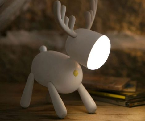 Cute Deer LED Baby Lamp