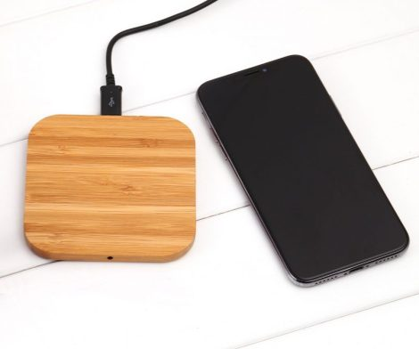 Qi Wireless Fast Charging Wooden Pad