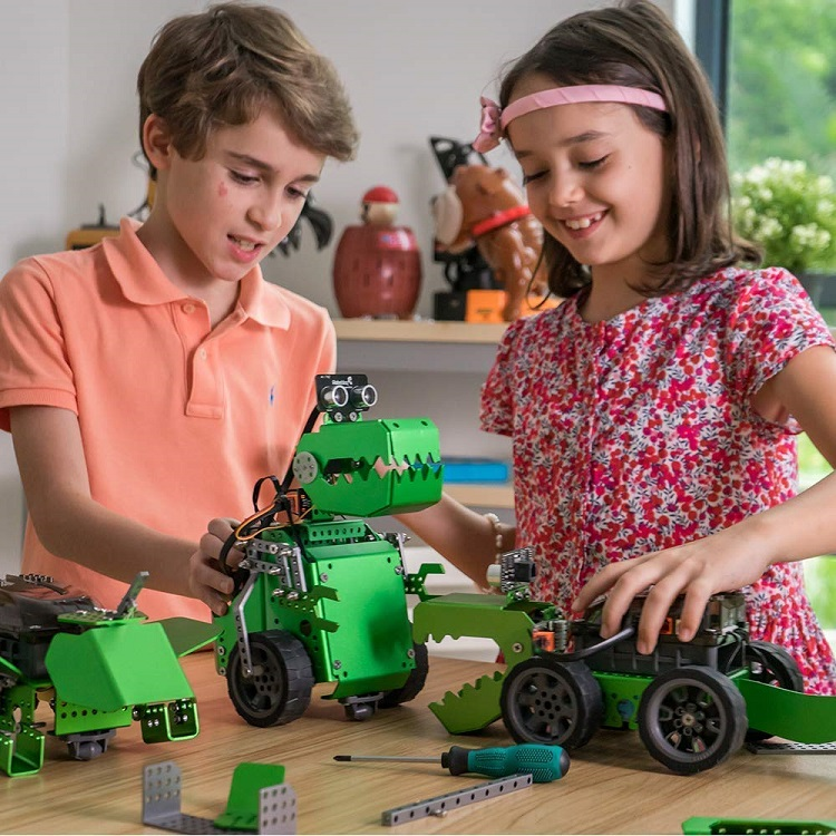 Q-Dino STEM Programming Robot Kit – Learn How to Code