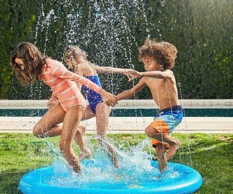 Outdoor Splash Sprinkler Mat