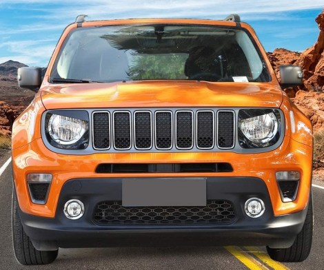 Jeep Renegade Angry Bird Headlight Covers