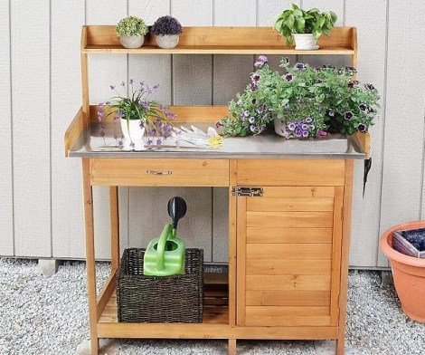Yaheetech Garden Potting Bench