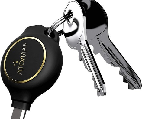 AtomXS Emergency Phone Charger Keychain