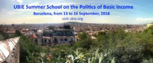 UBIE Summer School on the Politics of Basic Income – Barcelona (ES) @ venue will follow