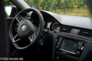 Skoda Rapid Spaceback_Armaturenbrett