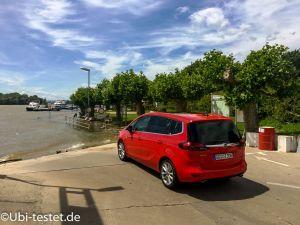 Opel Zafira Seitenansicht