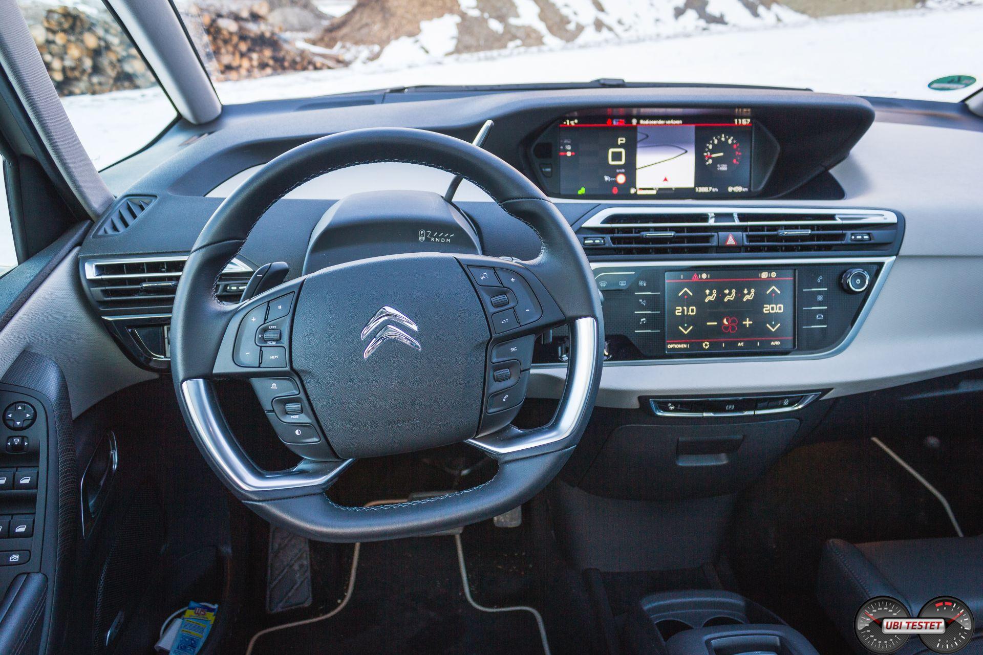 Citroën C4 Picasso Cockpit