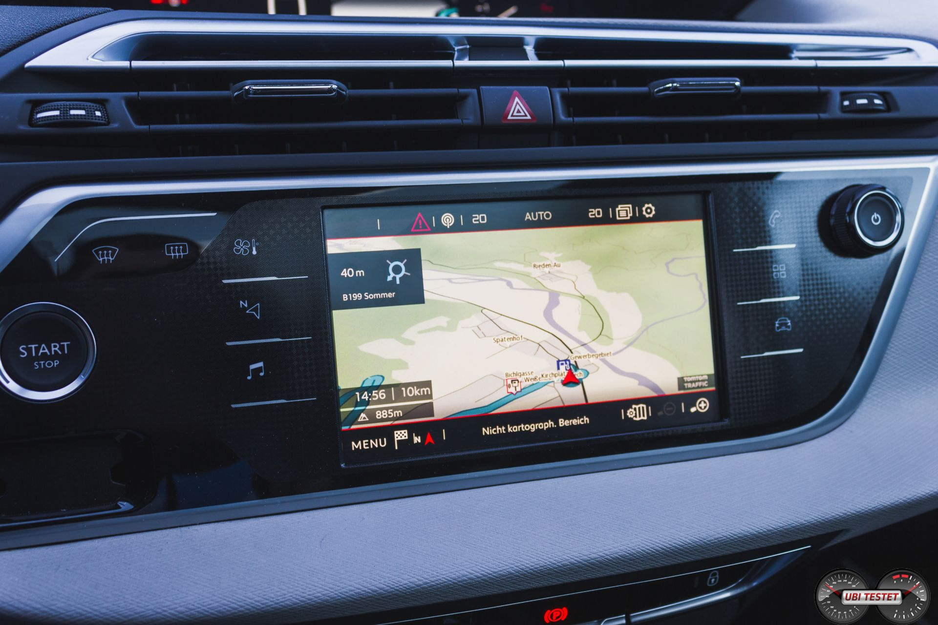 Citroën C4 Picasso Navigationssystem