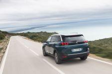 Heckansicht Peugeot 5008 2017
