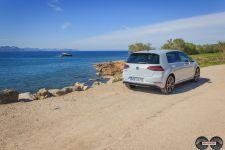 Heckansicht VW Golf GTE 2017