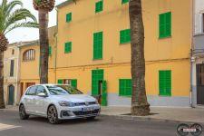 VW Golf GTE White Silver 2017