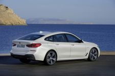 BMW 6er Gran Turismo Heckansicht M Sportpaket