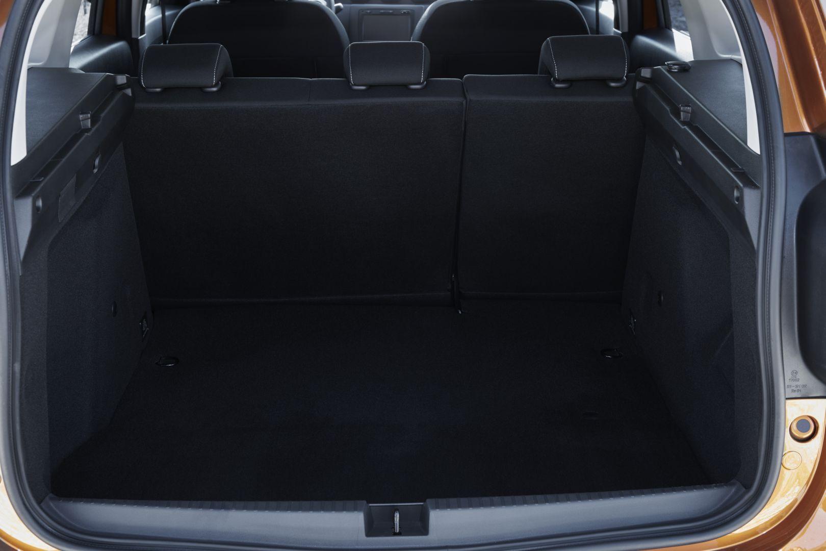 Kofferraum Dacia Duster 2018