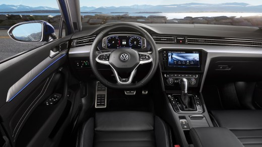 Innenraum VW Passat 2019