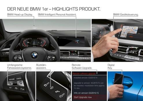 BMW 1er alle Daten