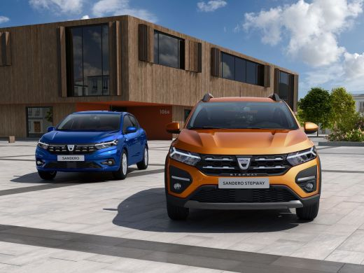 Dacia Sandero Stepway 2020 Taklamakan-Orange LED Licht