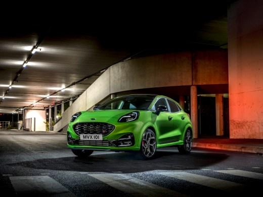 Ford Puma ST 2020 Furios Grün Performance Paket mit Sperrdifferenzial