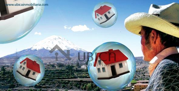 Burbuja inmobiliaria en Arequipa