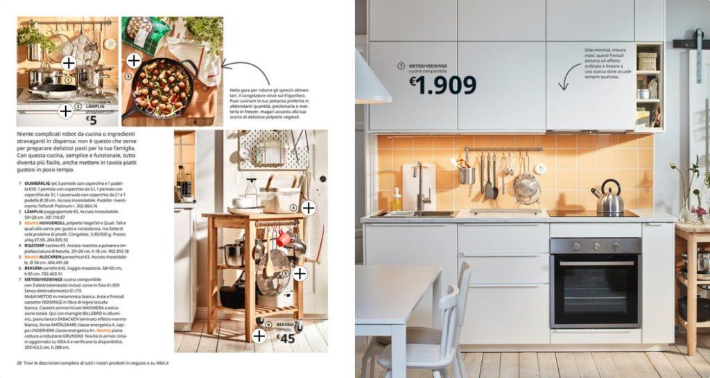 Cucina ikea, colore bianco sporco, stile shabby chic. Cucine Ikea Le Cucine Componibili Economiche Belle E Versatili
