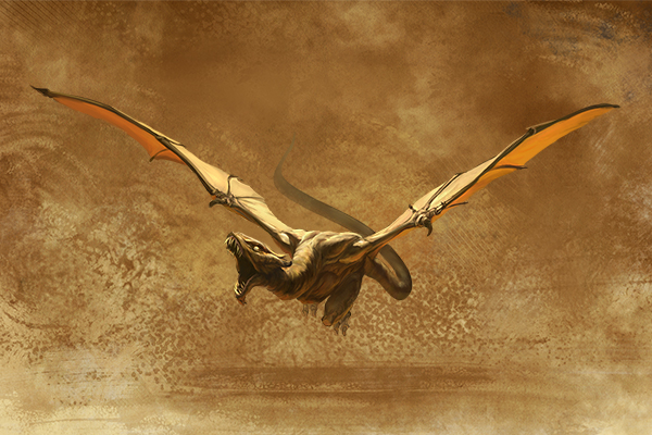 stronghold sand wyvern might