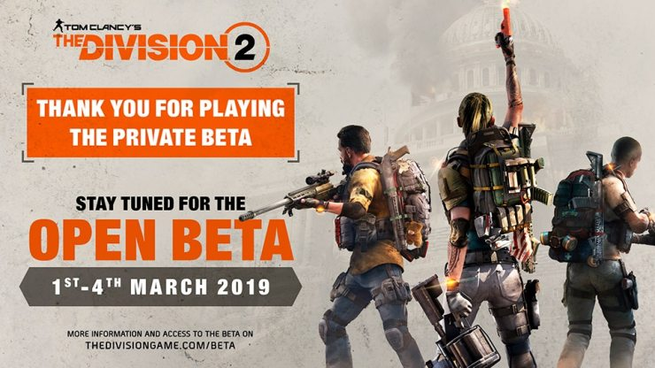 The Division 2 - Beta abierta
