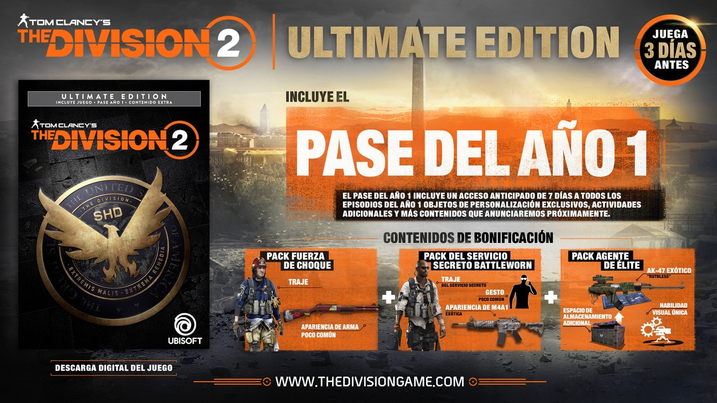 The Division 2 Ultimate Edition