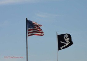 Pirate flag over Beaufort