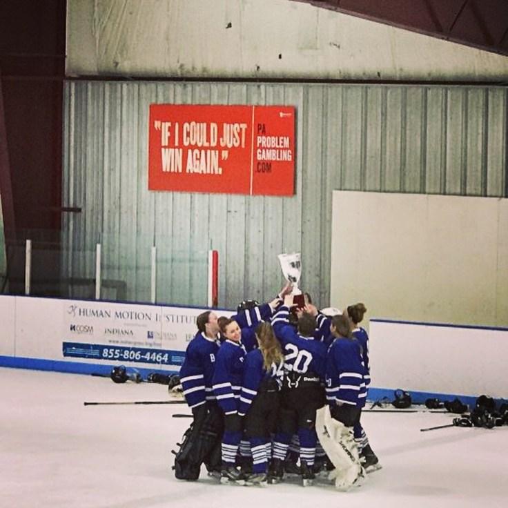 Lady Bulls Club Ice Hockey Team 2018
