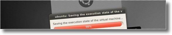 A salvar estado actual da Maquina Virtual