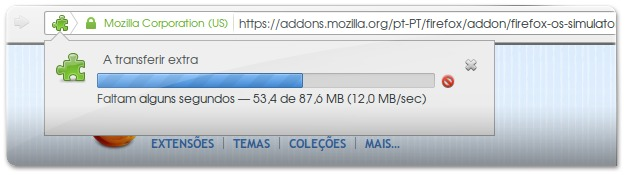 Downloadind FirefoxOS